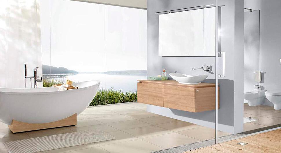 Réaliser une salle de bains contemporaine