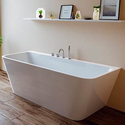 une baignoire ilot moderne et design