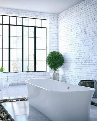 Style industriel - Salle de bain loft - Saint-Gobain.fr