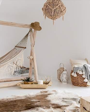 Style ethnique - chambre hamac - Saint-Gobain.fr