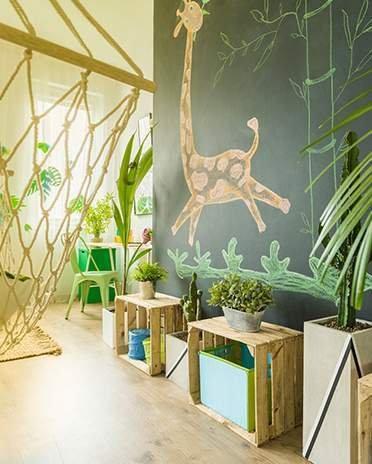 Style ethnique - chambre jungle  - Saint-Gobain.fr