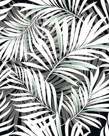 Style ethnique - motifs feuilles  - Saint-Gobain.fr