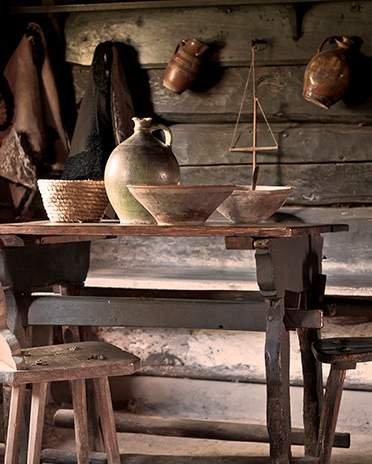 Style Campagne-chic - le charme du bois brut - La Maison Saint-Gobain