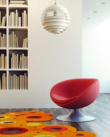 Style pop - fauteuil iconique - Saint-Gobain.fr