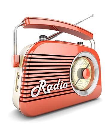 Style vintage - radio 1950's - La Maison Saint-Gobain