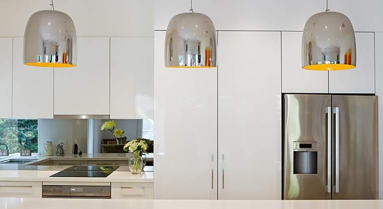 une cuisine couleur blanche