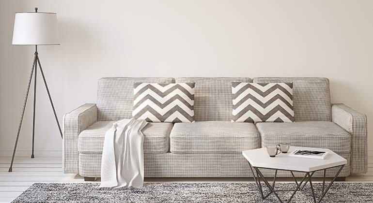 Style scandinave - canapé - La Maison Saint Gobain