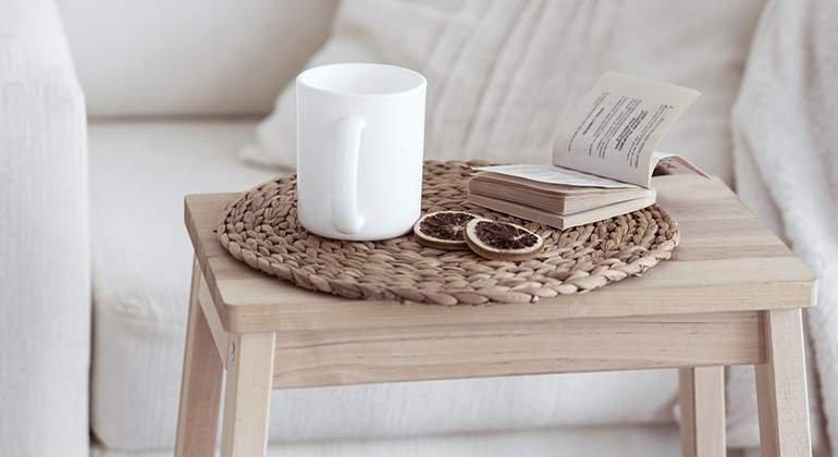 Style scandinave - table basse en bois - La Maison Saint Gobain