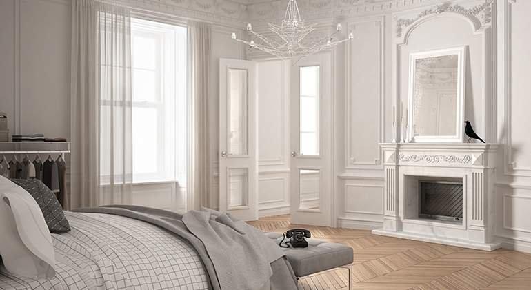 Style Classique-chic - chambre PMC - Saint-Gobain.fr
