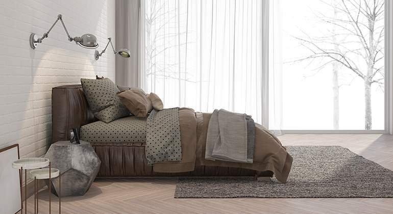 Style moderne design - chambre profil - Saint-Gobain.fr