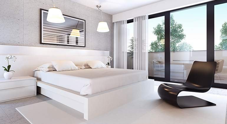 Style moderne design - séjour grandes baies vitrées- Saint-Gobain.fr