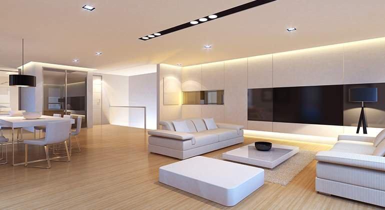 Style moderne design - salon - Saint-Gobain.fr