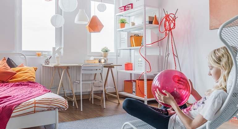 Style pop - chambre pour fille - Saint-Gobain.fr